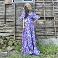 70s Vera mont high waist dress