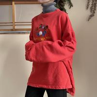 Tyrolean design sweatshirt