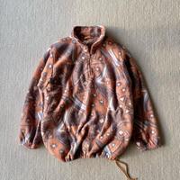 Orange fleece