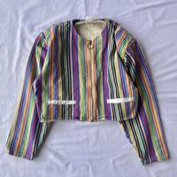 Colorful stripe jacket