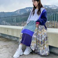 【SHINPIN×jane's vintage】Patchwork dress