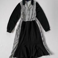 【SHINPIN×jane's vintage】Black mermaid dress