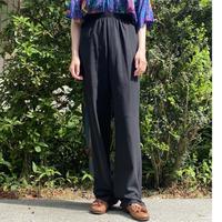 Black easy pants
