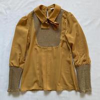 Gorgeous mustard blouse