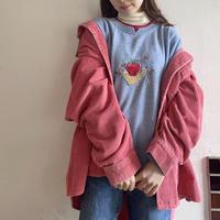 Fruite embroidery sweatshirt
