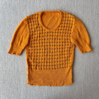 Orange summer knit