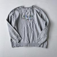 Embroidery birds sweatshirt