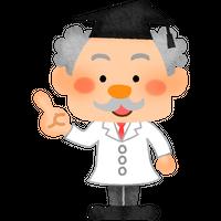 """""""博士のキャラクター""""高解像度版 / scientist character"""