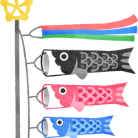 """""""鯉のぼり""""高解像度版 / koinobori carp streamer"""