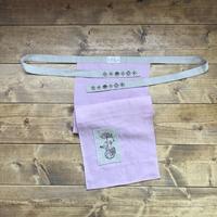 【ゆっくる】Lady's リネンふんどし ピンク レディースフリーサイズ(YU007)