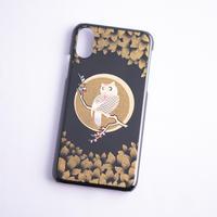 iPhone case  X/XS ふくろう|Owl