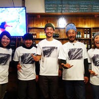 JFO2019 X 伊藤 剛 【限定】 コラボレーションTシャツ  SKIver