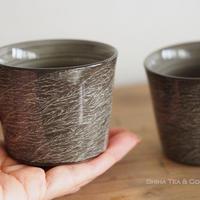 横石臥牛霙刷毛杯 Yokoishi Gagyu White Clay Brushing Ceramic Cups