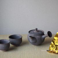 Black&Gold Glazing Small Teapot