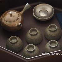 Japanese Lacquer Ware High Grade Brown Octagon Tea Ware Box