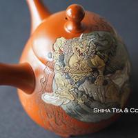 風神雷神 吉川壺堂雪堂急須  Wind God &Thunder God Kodo& Setsudo Yoshikawa Teapot KYUSU