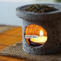 Vocano Lave Tea Leaf  Aroma burner 日本火山溶岩茶葉香炉