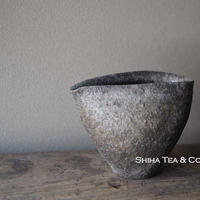 篠原敬珠洲焼柴焼公道杯 SUZU ware Wood Fired Zen Pitcher C