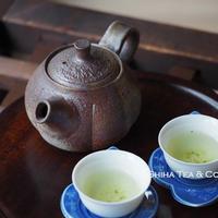 備前南瓜形茶壺急須 TAKASHI SAITO Bizen  Small Pumpkin Back Handle  Kyusu Teapot,