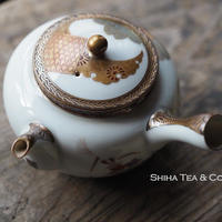 二手古董日本九谷茶壺急須 Antique Vintange Japan Kutani Teapot Kyusu
