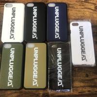 送料無料 UNPLUGGED CAMP iPhone ケース 6 7 8 用 5色 ブラック ホワイト カーキ タン ネイビー 【自社出荷:定形郵便】