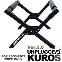 アンプラグドキャンプ ブラック クーラースタンド クロス for 25/35/45QT UNPLUGGED CP KUROS