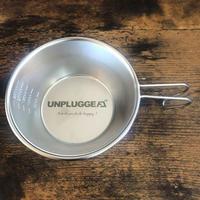 【限定ストック少量販売】UNPLUGGED オリジナル ステンレス ロゴシェラカップ × SomAbito【自社出荷:ヤマト宅急便コンパクト】