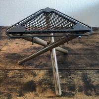 SomAbito 焚火 SIDE STAND 脚付 ビンテージカラー 焚火サイドテーブル