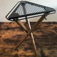 SomAbito 焚火 SIDE STAND 脚付 ビンテージカラー 脚長バージョン 焚火サイドテーブル