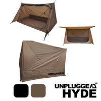 1STロット パップテント アンプラグドキャンプ HYDE ハイド 2色展開 コヨーテタン