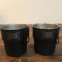 SomAbito Black Chip  Cup ソマビト  黒ロゴ ブラックチップ カップ 2個セット
