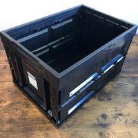 【BRID様取扱い開始!】MOLDING  CONTAINER BOX モールディング コンテナボックス L 50L  ブラック 1個