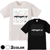 受注終了!THX!【予約:8月上旬入荷予定】6デザイン× 7色 UNPLUGGED CAMP オリジナル半袖Tシャツ  その6 モノグラム×グラフィティロゴ