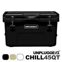 UNPLUGGED CP アンプラグドキャンプ オリジナルクーラーボックス CHILL 45 QT ブラック 黒