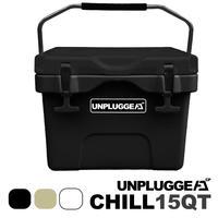 UNPLUGGED CAMP アンプラグドキャンプ オリジナルクーラーボックス CHILL 15 QT