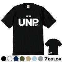 一部少量販売  6デザイン× 7色 UNPLUGGED CAMP オリジナル半袖Tシャツ  その2 UNP ロゴVer