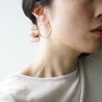 Moon halo earrings/Large