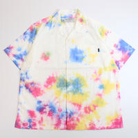 A HOPE HEMP × JAVARA「TIE DYE 開襟シャツ(MULTI)」