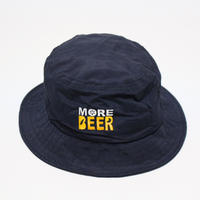MORE BEER NYLON HAT (NAVY)