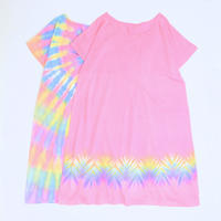 JAVARA「TIE DYE DOLMAN SLEEVE ONE PIECE #1」