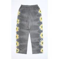 "A HOPE HEMP × JAVARA ""FLOWER LINE""  BAKER EASY PANTS(GRAY)"