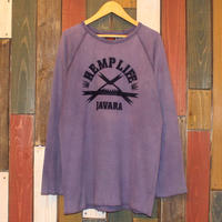 "JAVARA ""HEMP LIFE"" (ASH PURPLE)"