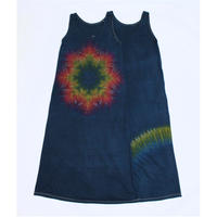 JAVARA「TIE DYE MAXI ONE PIECE NO SLEEVE #2」