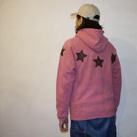 "JAVARA ""STAR CIRCLE"" PARKA (ash red)"