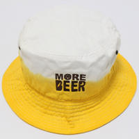 MORE BEER BUCKET HAT (BEER COLOR)