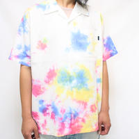 "A HOPE HEMP × JAVARA ""MARBLE"" 開襟シャツ(MULTI)"