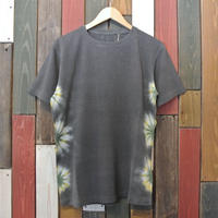 "JAVARA ""FLOWER LINE 02"" S/S (DARK GRAY)"