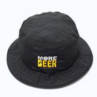 MORE BEER NYLON HAT (BLACK)