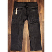 "JAVARA ""JV15"" (HEMP DENIM THAIPANTS WHITE  STITCH)"