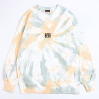 MORE BEER「LIMITED TIE DYE CLASSIC LOGO CREW#11」
